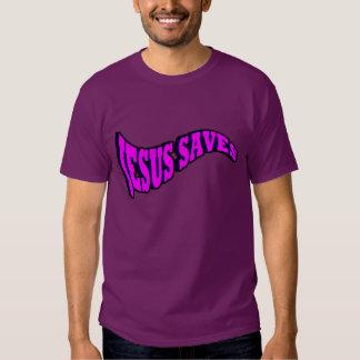 Jesus Saves. Shirts
