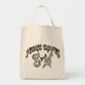 Jesus Saves Spread the Word Tote Bag