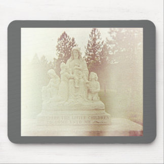 Jesus Saves the Children Mouse Pad