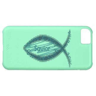 Jesus Savior Christian Fish Symbol Case For iPhone 5C