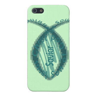 Jesus Savior Christian Fish Symbol Case For iPhone SE/5/5s