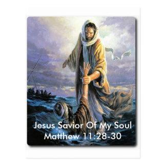 Jesus Savior Of My Soul Postcards