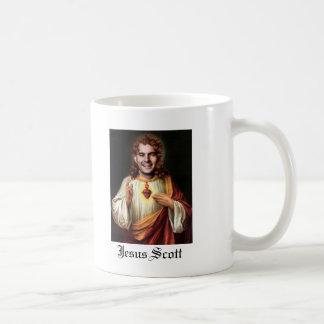 Jesus Scott Testicles Classic White Coffee Mug