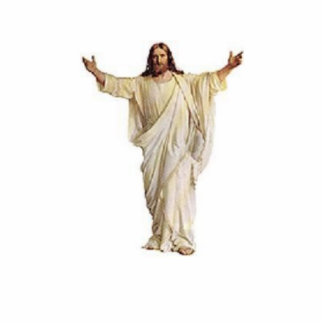 Jesus sculpture standing photo sculpture