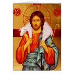 Jesus Seeker of Lost Sheep Card