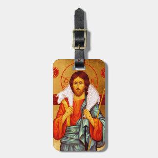 Jesus Seeker of Lost Sheep Luggage Tag