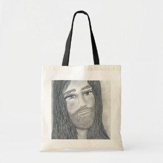 Jesús sereno bolsa tela barata