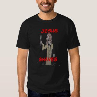 , JESUS, SHAVES TEE SHIRTS