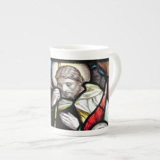Jesus Shepherd Stained Glass Art Tea Cup