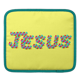 JESUS - Smiley Faces Sleeve For iPads
