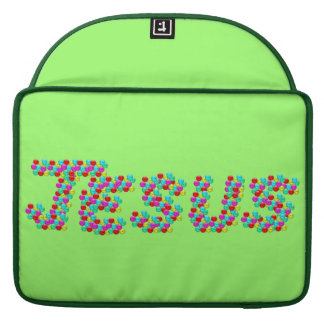 JESUS - Smiley Faces Sleeve For MacBook Pro