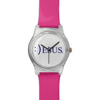 Jesus Smiling Wrist Watch Collection