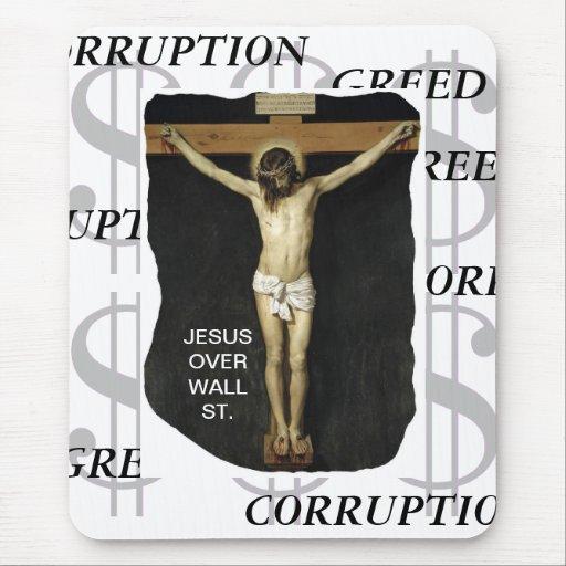 JESÚS SOBRE LA CORRUPCIÓN DE LA AVARICIA DE WALL S TAPETES DE RATONES