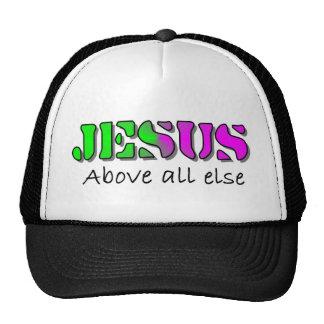 Jesús sobre todo gorras de camionero