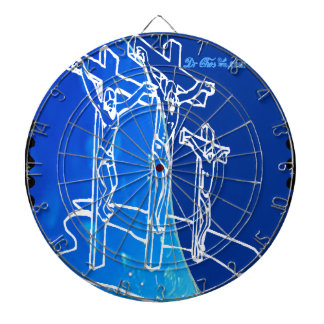 JESUS SON OF GOD HOME BLESSING CUSTOMIZABLE PRO DARTBOARD