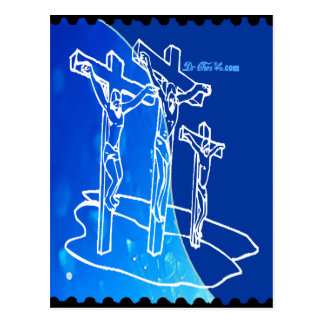 JESUS SON OF GOD HOME BLESSING CUSTOMIZABLE PRO POSTCARD