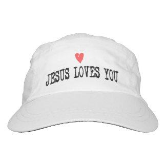 Jesus son of God loves us Hat
