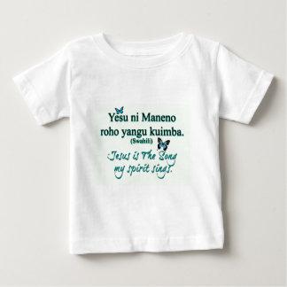 Jesus song swahili baby T-Shirt