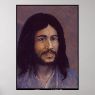 Jesús sonriente, imagen judía de Jesús Póster