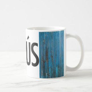 Jesus Spanish Teal Coffee Mug