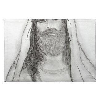JESUS STANDING II CLOTH PLACEMAT