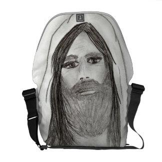 Jesus Standing II Courier Bag