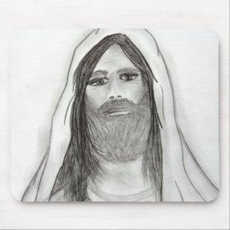 Jesus Standing II Mouse Pad