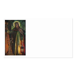 Jesus Stands at Door and Knocks Business Card