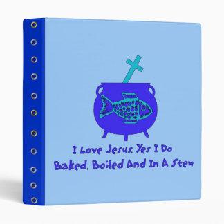 Jesus Stew Vinyl Binders