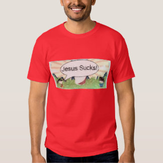 Jesus Sucks, but JesusMan! Rocks T-Shirt