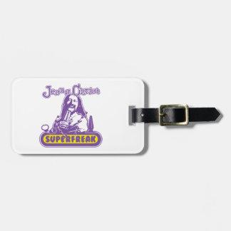 Jesus Superfreak Luggage Tags