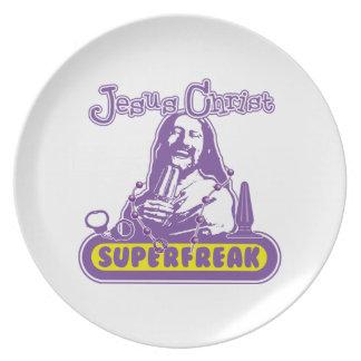 Jesús Superfreak Plato Para Fiesta