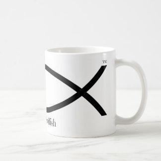 jesus swordfish-01 coffee mug