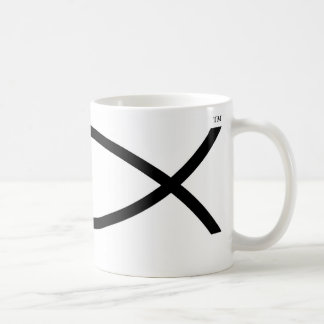 jesus swordfish no copy coffee mug