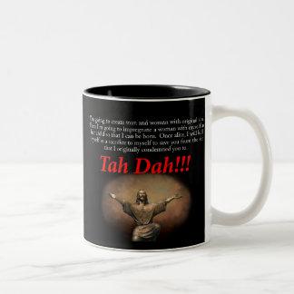 Jesus.  Tah Dah!!! Coffee Mug