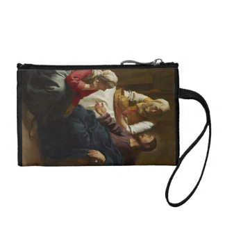 Jesus Teaching Mary and Martha Coin Wallet