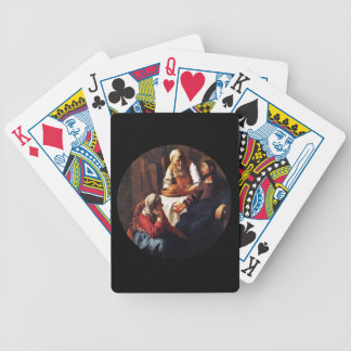 Jesus Teaching Mary and Martha Bicycle Playing Cards