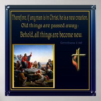 Jesus teaching print
