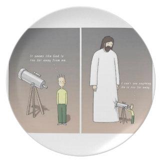 Jesus Telescope Plate