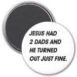 JESÚS TENÍA 2 PAPÁS Y RESULTADO MUY BIEN IMAN PARA FRIGORÍFICO