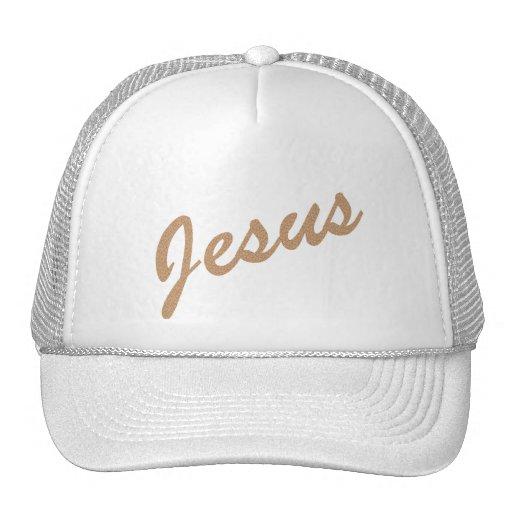 Jesus Terre craquée Trucker Hat