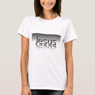 Jesus Text Christian Mirrored Design T-Shirt