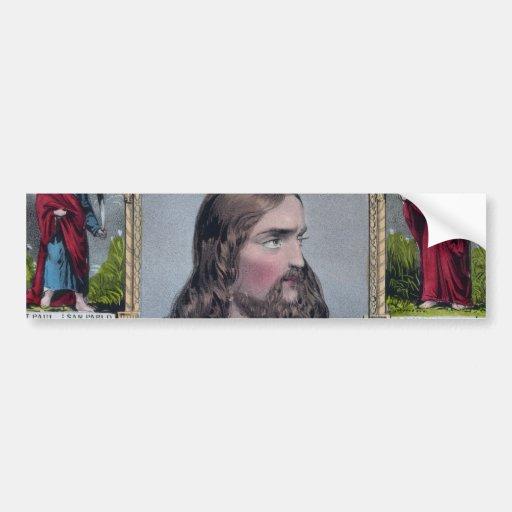 Jesus & The 12 Apostles Bumper Sticker