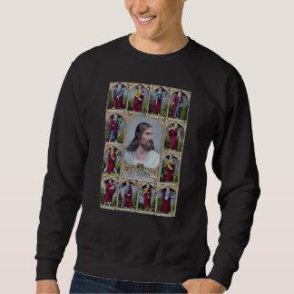 Jesus & The 12 Apostles Sweatshirt