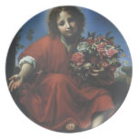 JESUS THE FLOWER CHILD PARTY PLATES