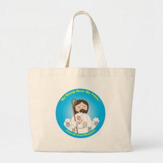 Jesus the Good Shepherd Canvas Bags