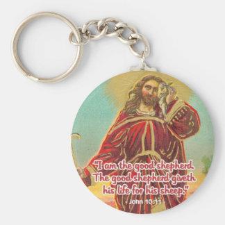Jesus The Good Shepherd Customized Keychain