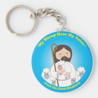 Jesus the Good Shepherd Key Chains