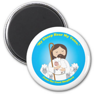 Jesus the Good Shepherd 2 Inch Round Magnet