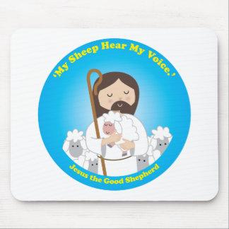 Jesus the Good Shepherd Mouse Pad